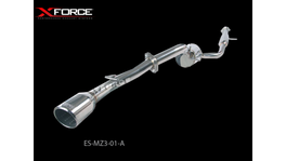 XFORCE Cat Back Exhaust Stainless Steel R-Spec fits Mazda 3 2004-09