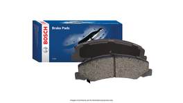Bosch Brake Pad Set Rear Blue Line DB1163BL