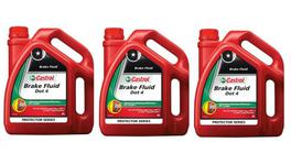 Castrol Brake Fluid DOT 4 4L 3 Box 127522