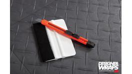 3M Vinyl Wrap Panel Pack Carbon Fibre Black 1.52m x 1.8m 226708