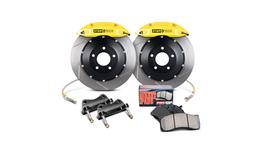 StopTech Big Brake Kit - Fits VW GTI Front w/Yellow ST-41 Calipers 328x25mm Slotted Rotors 06-12