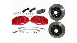StopTech Big Brake Kit - Fits WRX STi Front ST40 355x32 Drilled Rotors Red Calipers 08-09