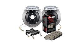 StopTech Big Brake Kit - Fits VW GTI Front w/ Red ST-40 Caliper Slotted 355x32 2pc 2015