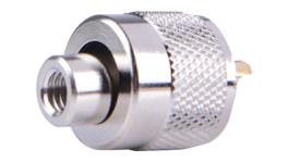 GME PL259 Plug With 4.9mm End