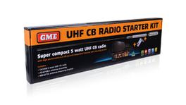 GME Two Way UHF CB Radio Starter Kit