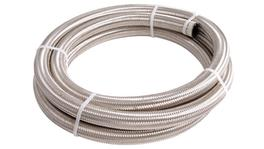 Aeroflow AF100-05-6m 100 Series Stainless Steel Braided Hose -5AN 6m (6.4mm I.D)