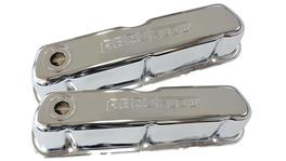Aeroflow AF1821-5002 Valve Cover Chrome With Logo Fits Ford 289-351W Sbf