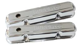 Aeroflow AF1821-5006 Valve Cover Chrome With Logo Fits Chrysler S/B