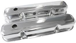 Aeroflow AF1821-5056 Valve Cover Baffled Chrome Without Logo Fits Chrysler S/B