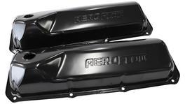 Aeroflow AF1822-5001 Valve Cover Black With Logo Fits Ford 302-351C