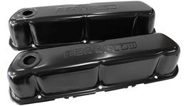Aeroflow AF1822-5002 Valve Cover Black With Logo Fits Ford 289-351W Sbf