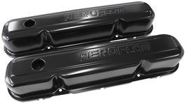 Aeroflow AF1822-5006 Valve Cover Black With Logo Fits Chrysler S/B