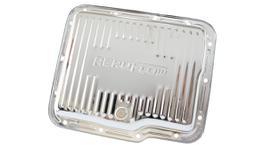 Aeroflow AF1825-3002 Transmission Pan STD Depth Chrome W/ Drain Plug Fits Gm Powerglide