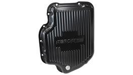 "Aeroflow AF1826-3001 Deep Transmission Pan Black W/ Drain Plug 3"" Deep Fits Th400"