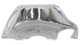 Aeroflow AF1827-3002 Trans Dust Inspection Cover Chrome Fits Gm Powerglide