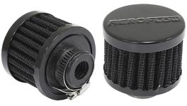 "Aeroflow AF2271-1330 1/2"" Univ Clamp On Filter 2"" O.D,1-1/2"" H,Black Top 278006"