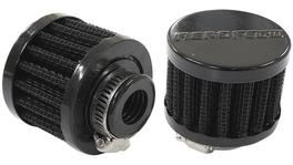 "Aeroflow AF2271-1340 5/8"" Univ Clamp On Filter 2"" O.D,1-1/2"" H,Black Top 278007"