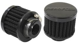 "Aeroflow AF2271-1360 3/4"" Univ Clamp On Filter 2"" O.D,1-1/2"" H,Black Top 278008"