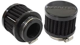 "Aeroflow AF2271-1370 1"" Univ Clamp On Filter 2"" O.D,1-1/2"" H, Black Top 278009"