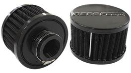 "Aeroflow AF2271-1420 1"" Univ Clamp On Filter 3"" O.D,2-1/4"" H, Black Top 278011"