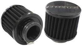 "Aeroflow AF2271-1440 1-3/8"" Univ Clamp On Filter 3"" O.D,2-1/2"" H, Black Top 278012"