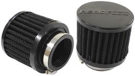"Aeroflow AF2271-1480 1-3/4"" Univ Clamp On Filter 3"" O.D,2-1/2"" H, Black Top 278014"
