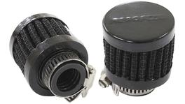 "Aeroflow AF2271-2480 9/16"" Univ Clamp On Filter 1-3/8"" O.D,1-1/8"" H,Black Top 278020"