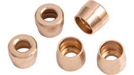 Aeroflow AF299-04 Teflon Brass Olive Insert -4Ansuit Teflon Hose End -4AN 5Pk AF299-04