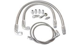 Aeroflow AF30-1002 SS20 Turbo / Water Line & Oil Feed Kit. Fits S14 & S15