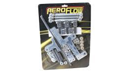 Aeroflow AF42-1070 4150 Shiny 671 Series Carb Linkage Blower Kit
