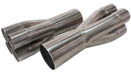 """Aeroflow AF4225-400 Merge Coll 2-1/4-4"""" 2-1/4"""" To 4"""" 304 Stainless"""