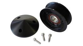 Aeroflow AF59-4031BLK Tensioner Replacement Pulley And Nose Cover W/Bolts Fits LS Chev
