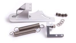Aeroflow AF64-2031S Throttle Return Spring Bracket Silver Suits 4150 Style Carbs