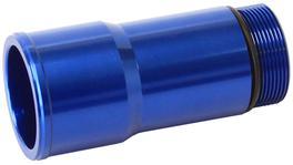 """Aeroflow AF64-2080 1.5"""" Radiator Hose Adapter Blue Short 2.75"""" Length CVR"""