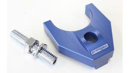 Aeroflow AF64-2093 Billet Distributor Hold Down Blue Large V2 Fits Windsor & 351C