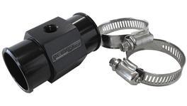 "Aeroflow AF64-2234 1-11/32"" 34mm Water Temp Hose Adapter W/ 1/8"" NPT Gauge Port"