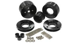 Aeroflow AF64-3006BLK Gilmer Drive Kit Black Suits Holden 5.0L 304Ci V8 VN-VS