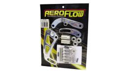 Aeroflow AF64-4001 Mid Mount Psteer Pump L/Side-Long Pump Bracket Only Fits SBC
