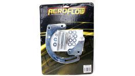 Aeroflow AF64-4015 Low Mount Alt Bracket Chrome With Short Water Pump Fits SB Chev