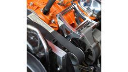 Aeroflow AF64-4025 Billet Passenger Side Mid Mount Alt Bracket Fits Holden V8 HQ-WB