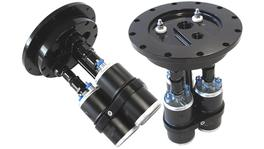 Aeroflow AF64-4050BLK Billet Triple Pump Hanger Weld Use 49-1013 Pumps