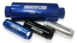 "Aeroflow AF66-2042 Pro Filter 60 Micron Blue Female -8 orb 1.25""x3.5"""