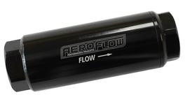 "Aeroflow AF66-2042BLK-10 Pro Filter 10 Micron Black Female -8 orb 1.25""x3.5"""