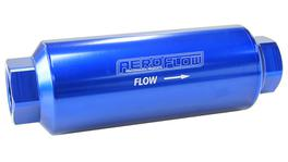 "Aeroflow AF66-2044-40 Pro Filter 40 Micron Blue Female -12orb 2""x5.5"""
