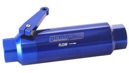 Aeroflow AF66-2051 -12orb Inline Filter With Ballvalve 60 Micron