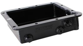 """Aeroflow AF72-3000BLK 3"""" Deep Fabricated Transmission Pan Inc Mounting Access Suits Ford C4"""