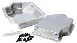 """Aeroflow AF72-3001 3"""" Deep Fabricated Transmission Pan Inc Filter Extension Fits TH400"""