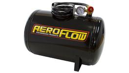 Aeroflow AF77-3000 5 Gal Portable Air Tank Black With Tank Valve 125 Max PSI