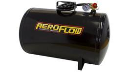Aeroflow AF77-3001 10 Gal Portable Air Tank Blackwith Tank Valve 125 Max PSI 280360