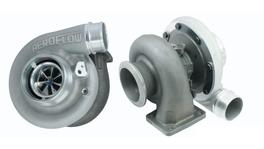 Aeroflow Boosted Turbocharger 6673 .91 T4 Twin Entry V-Band Outlet BW S366